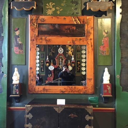 Selfie dans le miroir de Totor