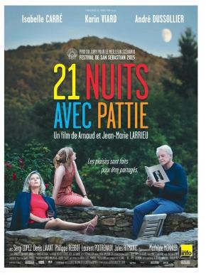 21 nuits avec Pattie, de Arnaud et Jean-MarieLarrieu