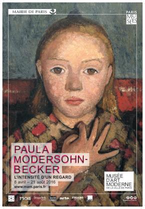 Paula Modersohn-Becker au Musée d'Art Moderne de la Ville deParis