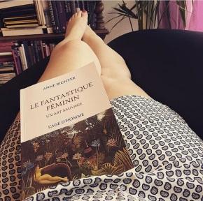 Le fantastique féminin, un art sauvage d'AnneRichter