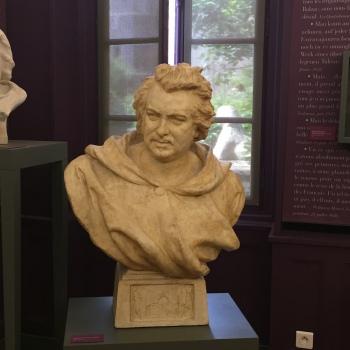 Buste de Balzac par Pierre-Eugène-Emile Hébert