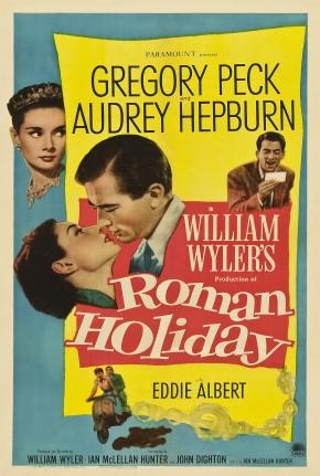Roman Holiday (Vacances Romaines) de WilliamWyler