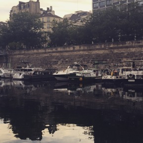 Paris Secret : Bassin de l'Arsenal