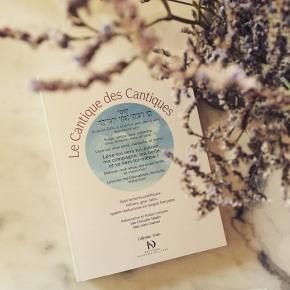 Le Cantique des Cantiques, aux éditions Diane deSelliers