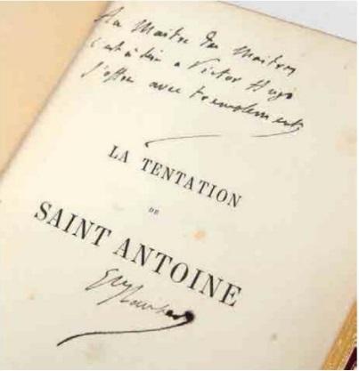 Gustave Flaubert. La Tentation de Saint Antoine. Paris, 1874. © Stéphane Briolant