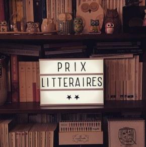 Bilan des prix littéraires d'automne2016