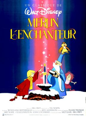 The Sword in the Stone (Merlin l'Enchanteur) de Wolfgang Reitherman