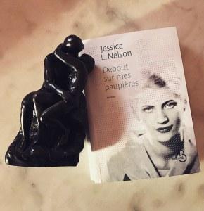 Debout sur mes paupières, de Jessica L.Nelson