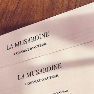 Contrat d'auteur La Musardine