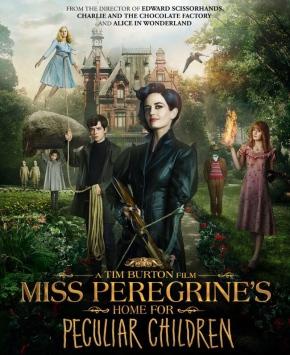 Miss Peregrine's Home for Peculiar Children (Miss Peregrine et les enfants particuliers) de TimBurton