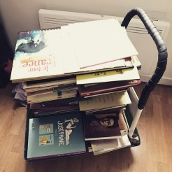 Chariot de livres