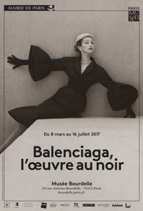 Balenciaga, l'oeuvre au noir au muséeBourdelle