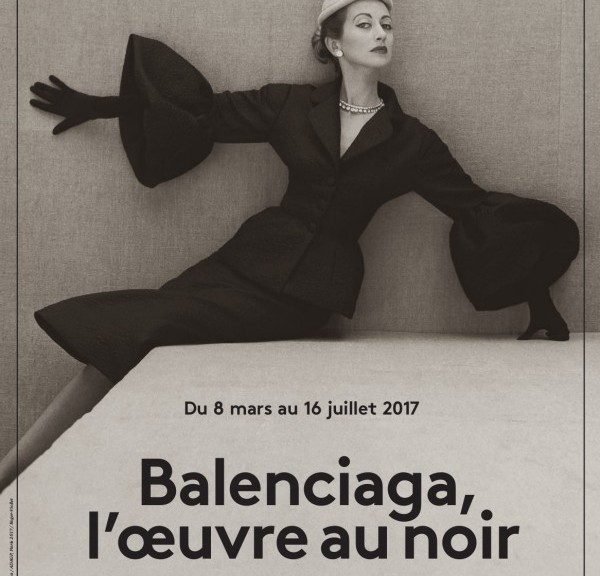 Balenciaga l'oeuvre au noir