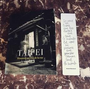 Taipei, histoires au coin de larue