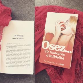 Dans vos librairies demain… Osez vingt histoires d'infidélité