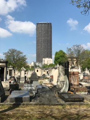 Le cimetière duMontparnasse