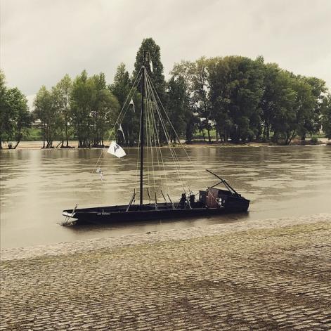 Loire sous la pluie