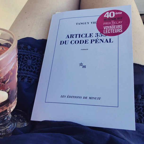 Article 353 du code pénal de Tanguy Viel