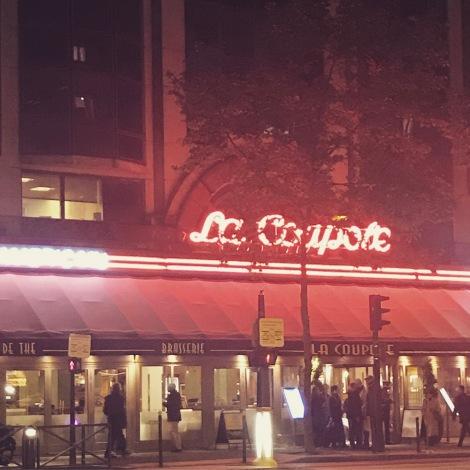 Montparnasse by night - La Coupole