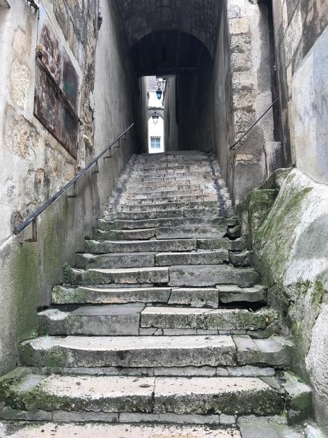 Promenade des remparts (escalier George Sand)