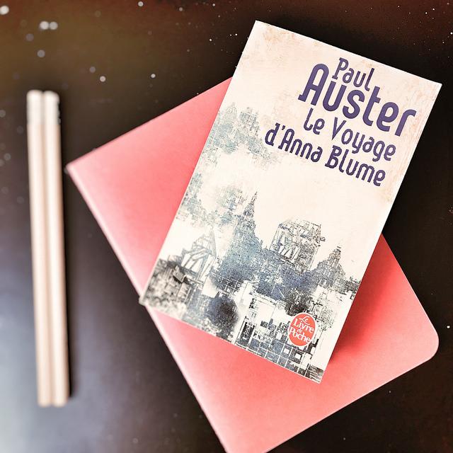 Le Voyage d'Anna Blume, de Paul Auster