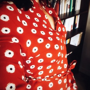 Instantané #58 (la petite robe rouge et la petite robeverte)