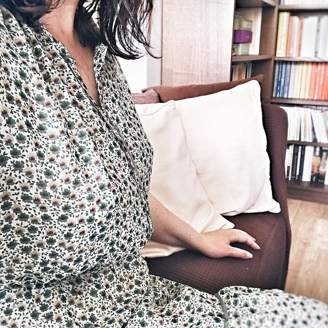 La petite robe verte
