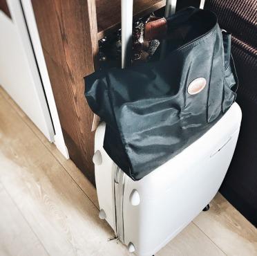 Dans les valises