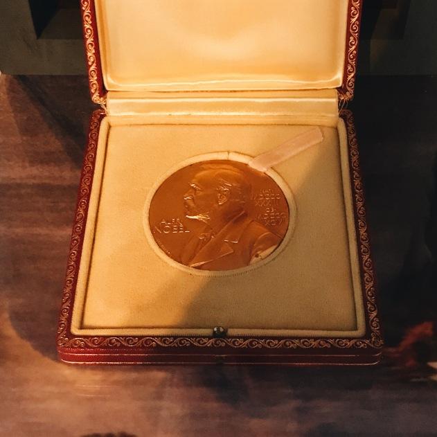 La médaille Nobel de José Saramago