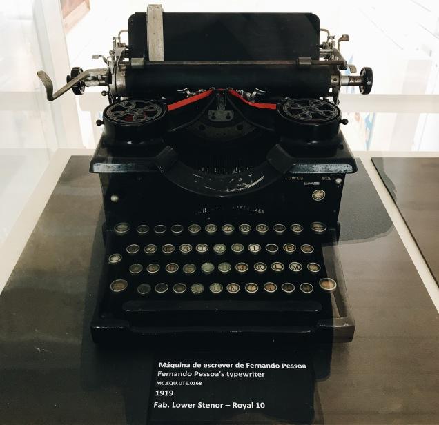 La machine à écrire de Fernando Pessoa