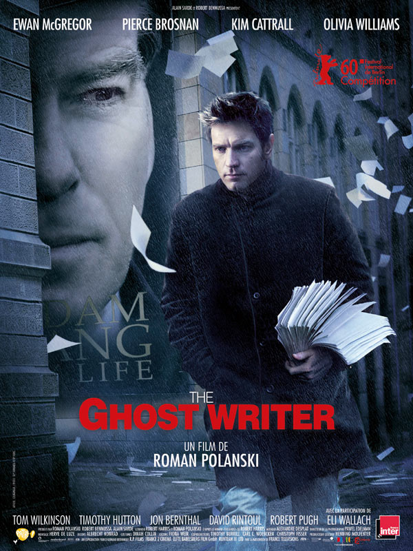 The Ghost writer, de Roman Polanski