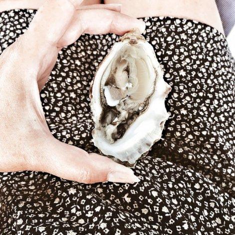 huître (cette photo a été aimée par François Busnel sur Instagram)