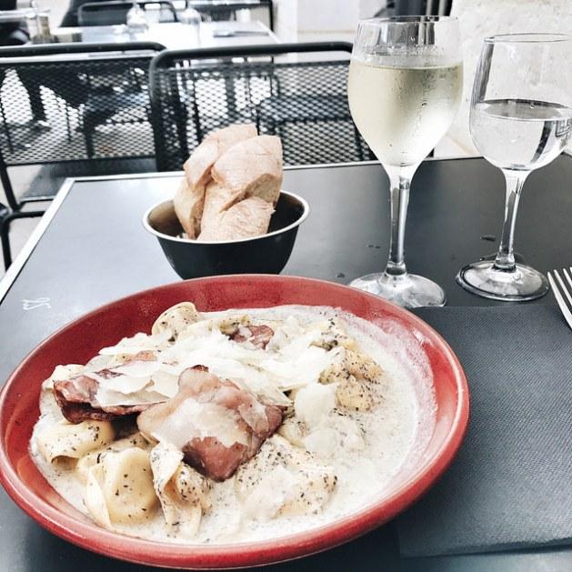 Déjeuner au Palais Royal