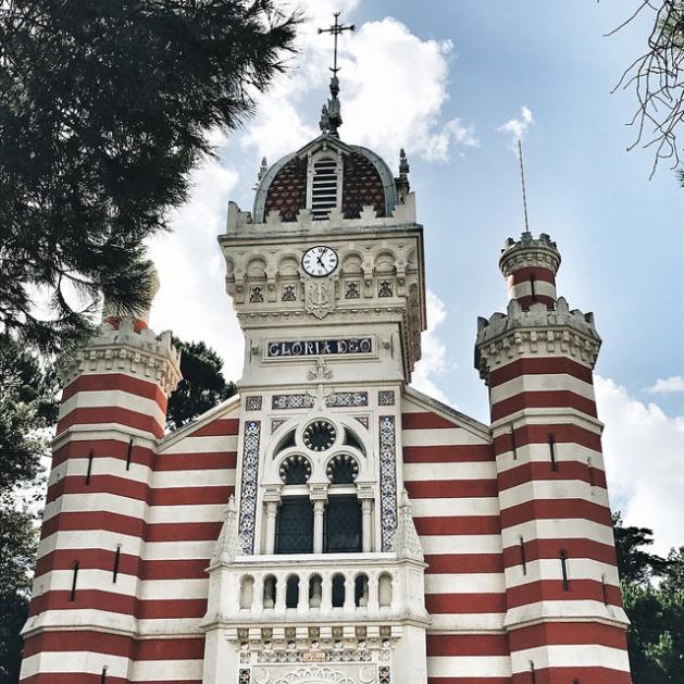 la chapelle de la villa algérienne