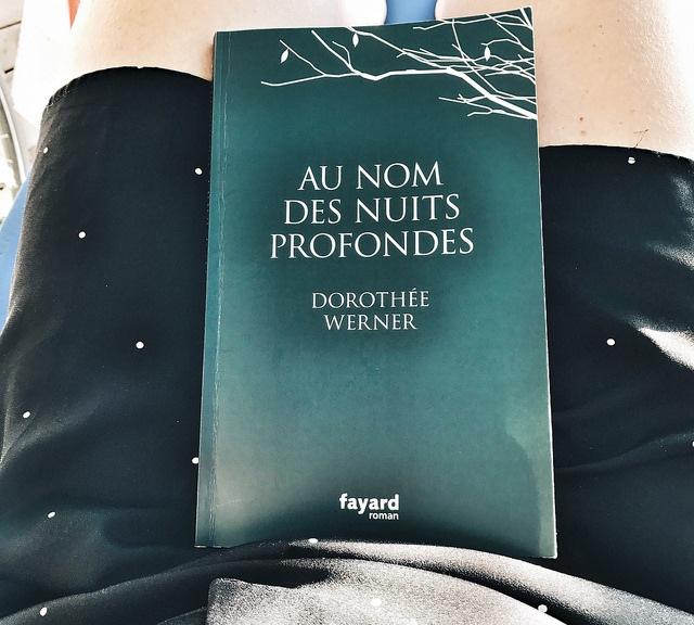 Au nom des nuits profondes, de Dorothée Werner