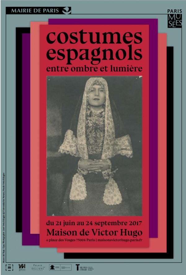 Costumes espagnols entre ombre et lumière, à la maison de Victor Hugo