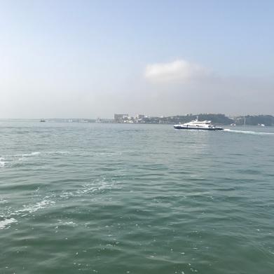 Cacilhas - En bateau