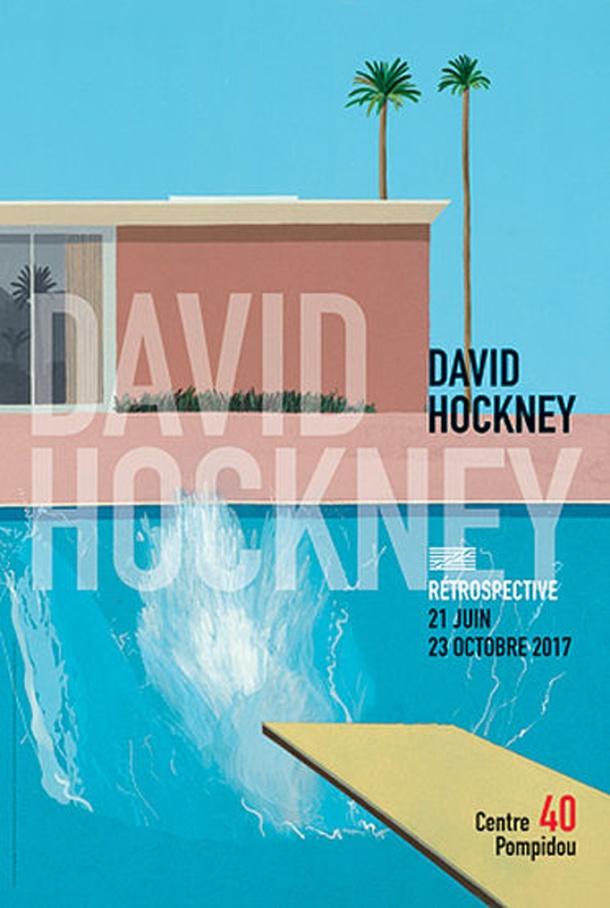 David Hockney à Beaubourg