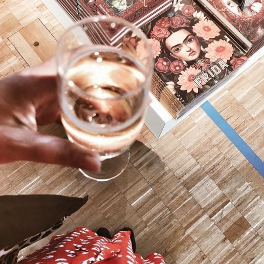 Du champagne