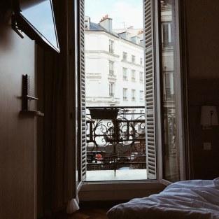 Chambre d'hôtel avec vue