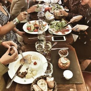 Déjeuner d'influenceurs