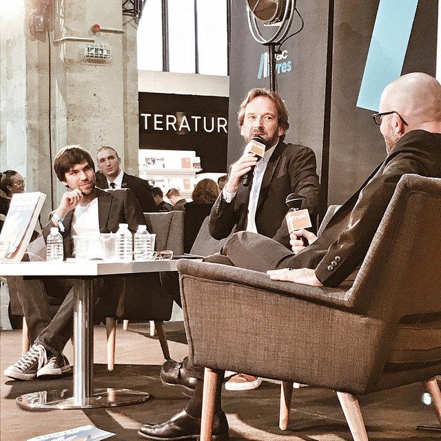 Dream Team : Hubert Arthus, Julien Bisson et The Boss : François Busnel