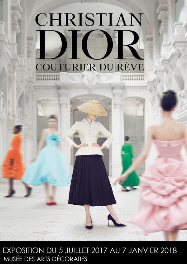 Christian Dior, couturier du rêve aux Arts Décoratifs
