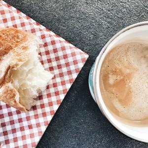café/croissant