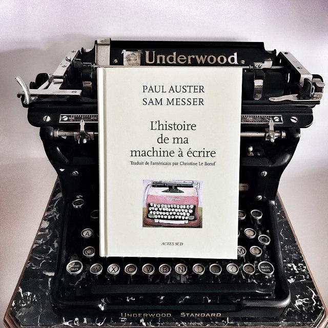 L'Histoire de ma machine à écrire, de Paul Auster et Sam Messer