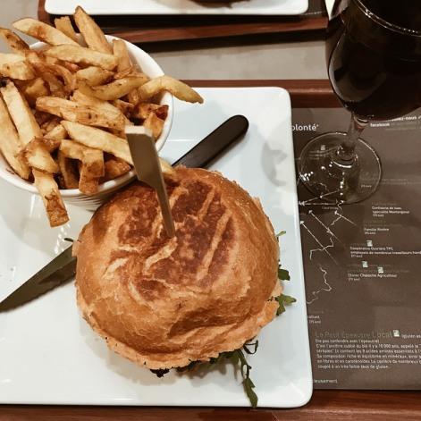 Un burger bio à tomber