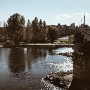 les couleurs de l'automne sur la Loire