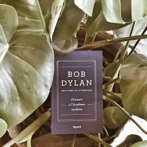Discours à l'Académie suédoise, de Bob Dylan