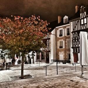 La ville, la nuit...