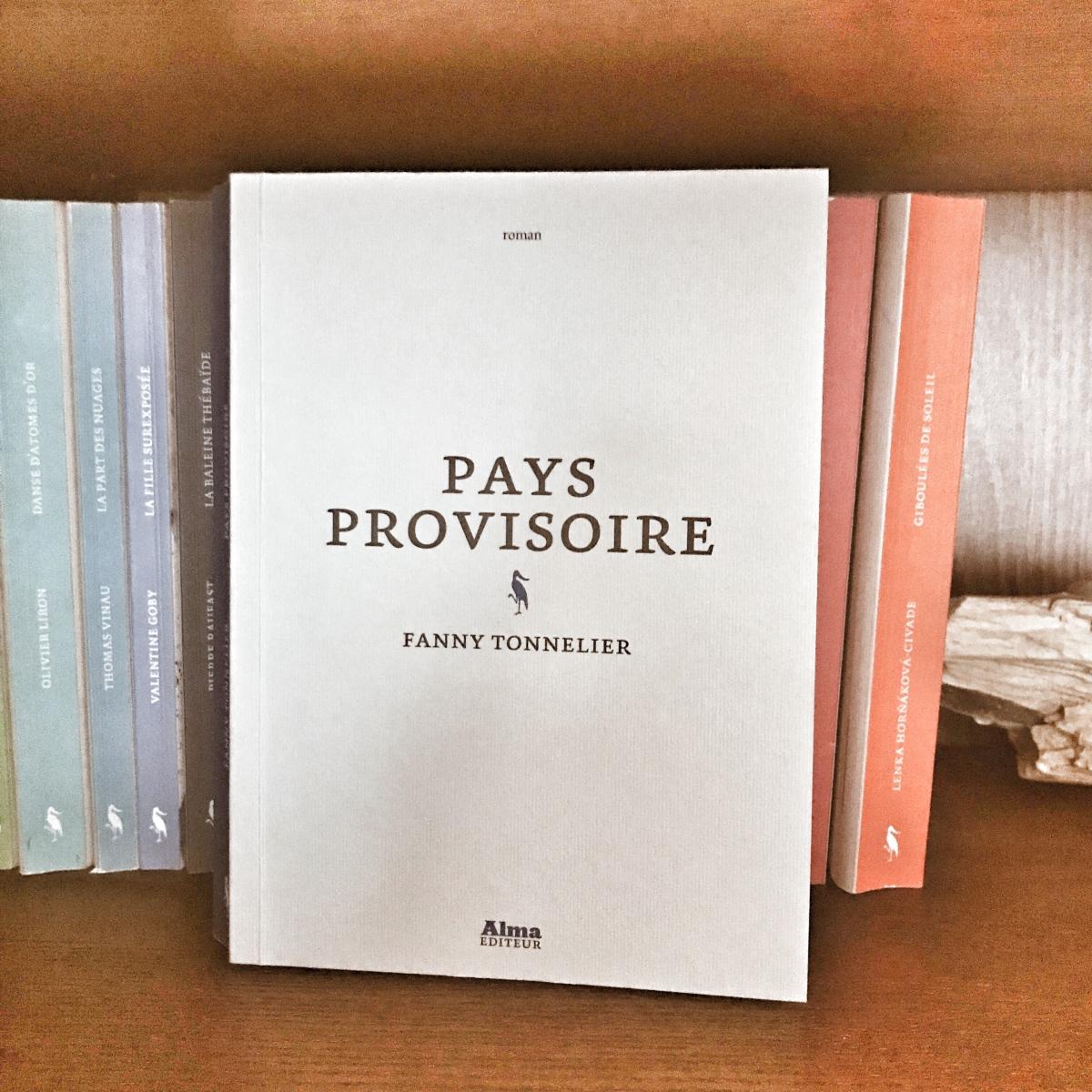 Pays Provisoire, de Fanny Tonnelier
